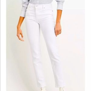 724 HIGH RISE STRAIGHT WOMEN'S JEANS IN WHITE